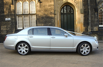 Leicester Executive Chauffeurs Bentley Flying Spur Wedding Car Packages